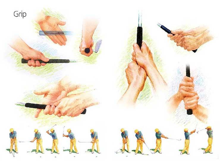 PushGolf Grip
