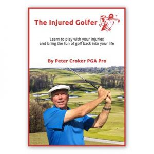 the injured golfer